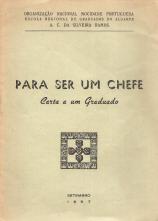 PARA SER UM CHEFE - CARTA A UM GRADUADO