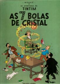 AS AVENTURAS DE TINTIM-AS SETE BOLAS DE CRISTAL