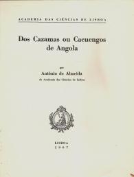DOS CAZAMAS OU CACUENGOS DE ANGOLA