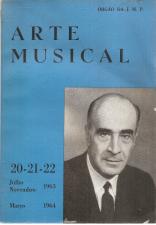 ARTE MUSICAL-REVISTA DE DOUTINA, NOTICIÁRIO E CRÍTICA