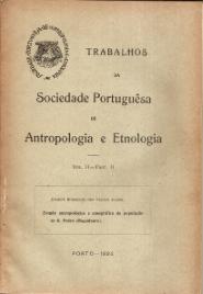 ESTUDO ANTROPOLÓGICO E ETNOGRÁFICO DA POPULAÇÃO DE S.PEDRO (MOGADOURO)