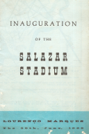 INAUGURATION OF THE SALAZAR STADIUM