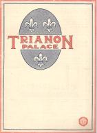 TRIANON PALACE - PROGRAMA DE 6 A 8 DE JANEIRO DE 1930