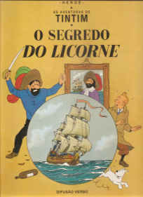 AS AVENTURAS DE TINTIM-O SEGREDO DO LICORNE