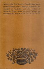 ALENTEJO NÃO TEM SOMBRA (ANTOLOGIA DE POESIA CONTEMPORÂNEA SOBRE O ALENTEJO, ORGANIZADA POR EUGÉNIO DE ANDRADE)