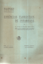 ESSÊNCIAS FLORESTAIS DE INHAMBANE