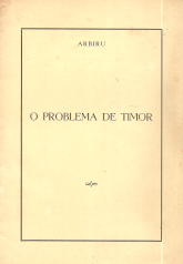O PROBLEMA DE TIMOR