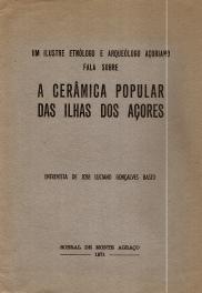 A CERÂMICA POPULAR DAS ILHAS DOS AÇORES