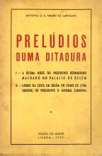 PRELÚDIOS DUMA DITADURA