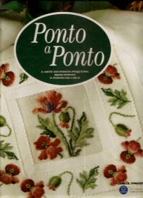 PONTO A PONTO-A ARTE DO PONTO PEQUENO, MEIO PONTO E PONTO DE CRUZ