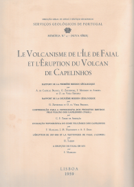 LE VOLCANISME DE L´ILE DE FAIAL ET L´ÉRUPTION DU VOLCAN DE CAPELINHOS