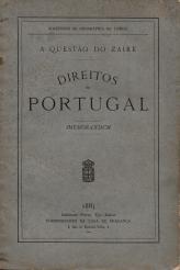 A QUESTÃO DO ZAIRE-DIREITOS DE PORTUGAL - MEMORANDUM