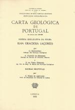 CARTA GEOLÓGICA DE PORTUGAL-NOTÍCIA EXPLICATIVA DA ILHA GRACIOSA-AÇORES