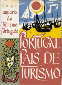 PORTUGAL-PAÍS DE TURISMO-ANUÁRIO DO TURISMO PORTUGUÊS-1961