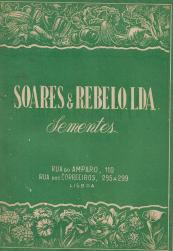 SOARES & REBELO,LDA.-CATÁLOGO GERAL-SEMENTES