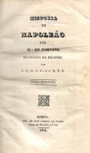 HISTÓRIA DE NAPOELEÃO, POR MR. NORVINS