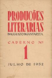 PRODUÇÕES LITERÁRIAS-CADERNO Nº1