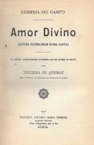 AMOR DIVINO (ESTUDO PATHOLOGICO D´UMA SANTA)
