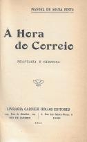 Á HORA DO CORREIO-PHANTASIA E CRONICA