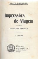IMPRESSÕES DE VIAGEM-CARTAS A UM JORNALISTA
