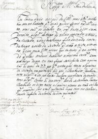 JOANA MARIA DA CRUZ VEM RECLAMAR DA QUITAÇÃO DO ANO DE 1777 JUNTO DE MANUEL JOSÉ DE LIMA , DO LUGAR DE GAEIRAS