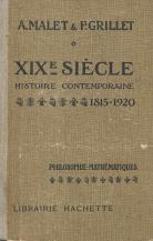 XIX SIÉCLE-HISTOIRE CONTEMPORAINE (1815-1920)