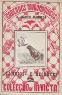CADERNOS TAUROMAQUICOS-CAMBIOS E RECORTES-2