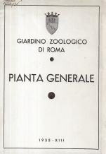 GIARDINO ZOOLOGICO DI ROMA-PIANTA GENERALE