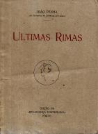 ULTIMAS RIMAS