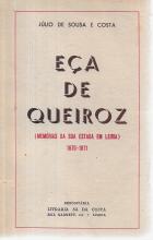 EÇA DE QUEIROZ (MEMÓRIAS DA SUA ESTADIA EM LEIRIA) 1870-71