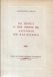 DA ÉPOCA E DOS FEITOS DE ANTÓNIO DE SALDANHA