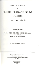 THE VOYAGES OF PEDRO FERNANDEZ DE QUIROS, 1595 TO 1606