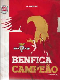 BENFICA CAMPEÃO-LIVRO OFICIAL (2009-2010)