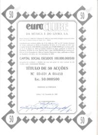 EUROCLUBE DA MÚSICA E DO LIVRO, S.A.