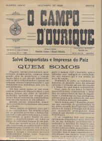CLUBE ATLÉTICO DE CAMPO DE OURIQUE (C.A.C.O.)-JORNAIS E BOLETINS