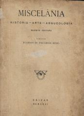 MISCELÂNIA-HISTÓRIA-ARTE-ARQUEOLOGIA-REVISTA EDITORA
