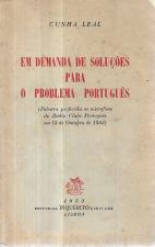 EM DEMANDA DAS SOLUÇÕES PARA O PROBLEMA PORTUGUÊS