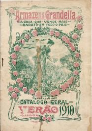 ARMAZENS GRANDELLA-EXTRACTO DO CATALOGO GERAL DAS NOVIDADES PARA VERÃO DE 1910