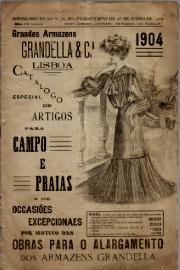GRANDES ARMAZÉNS GRANDELLA & CIA.-CATALOGO ESPECIAL DE ARTIGOS PARA CAMPO E PRAIAS