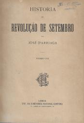 HISTÓRIA DA REVOLUÇÃO DE SETEMBRO