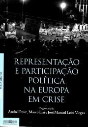 REPRESENTAÇÃO E PARTICIPAÇÃO POLÍTICA NA EUROPA EM CRISE