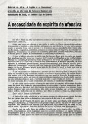 A NECESSIDADE DO ESPÍRITO DE OFENSIVA