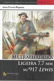 METRALHADORA LIGEIRA 7,7 MM M/917 LEWIS
