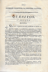 QUESITOS DA SOCIEDADE PROMOTORA DA INDUSTRIA NACIONAL