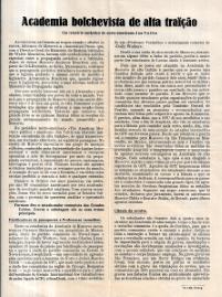 ACADEMIA BOLCHEVISTA DE ALTA TRAIÇÃO