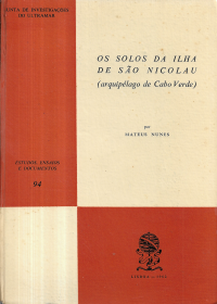 OS SOLOS DA ILHA DE SÃO NICOLAU (ARQUIPÉLAGO DE CABO VERDE)
