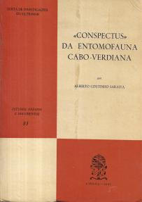 «CONSPECTUS» DA ENTOMOFAUNA CABO-VERDIANA