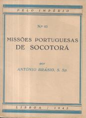 MISSÕES PORTUGUESAS DE SOCOTORÁ