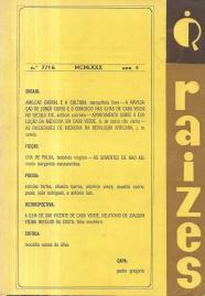 RAÍZES-PUBLICAÇÃO TRIMESTRAL
