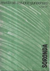 SORONDA-REVISTA DE ESTUDOS GUINEENSES